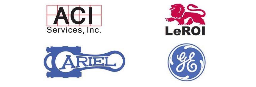 ACI LOGO, LeRoi Logo, Ariel GE logo